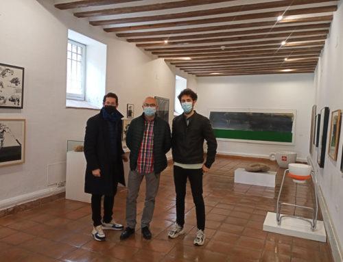 La FAP recibe la visita del coordinador artístico de Escena Patrimonio