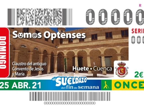 El Claustro del Museo de Fotografía de Huete protagoniza el sorteo de la ONCE del próximo 25 de abril