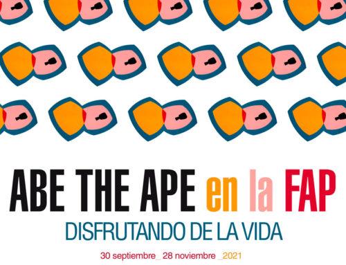 Abe the Ape en la FAP. Disfrutando de la vida.